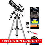 Kit de lunette astronomique EQ Orion Observer 80ST
