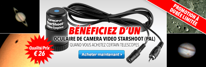 Oculaire de camera video StarShoot Gratuit